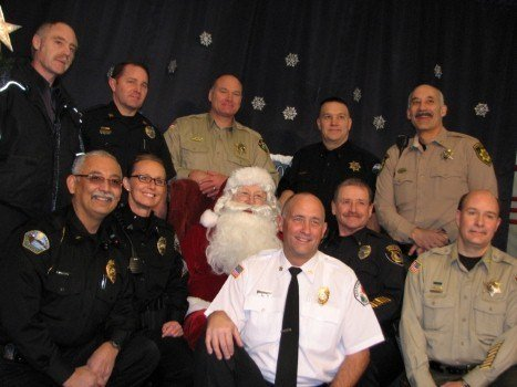 Local Law Enforcement Agencies Help Make The Holidays Brighter For Many Children