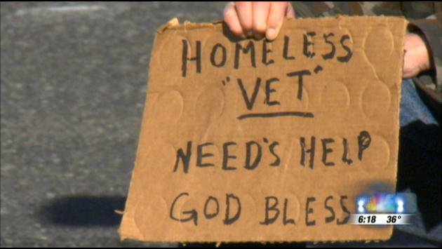 You see panhandlers at intersections throughout the city, but are their stories true?