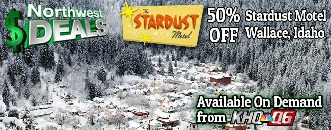 KHQ NW Deals: Half off at Stardust Motel - Your Lookout Pass Ski Base!