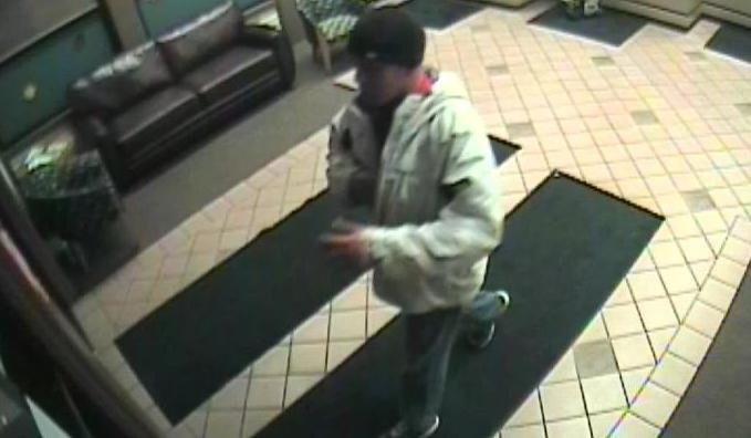 Photo of Banner Bank robbery suspect
