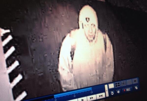 This man was caught by Hopped Up Brewing's security camera shortly before it went black and was stolen. If you know who this person is, please call Crime Check 456-2233