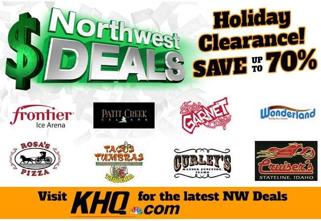 KHQ NW Deals: Save up to 70%!