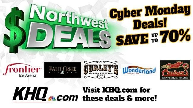 KHQ NW Cyber Monday Deals: Save up to 70%!