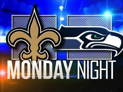 The Saints Traveled To Seattle Monday Night To Take On The Seahawks