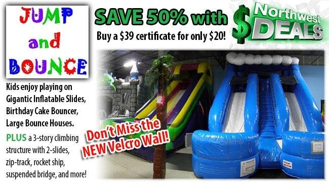 KHQ NW Deals: Jump and Bounce, half-price at $20!