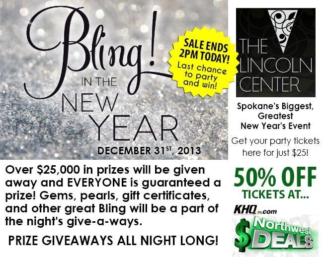 KHQ NW Deals: Bling! In The New Year!