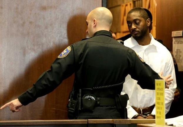 Basim Henry, 32, right, one of four accused in the Dec. 15, 2013, carjacking at The Mall at Short Hills, where Dustin Friedland, of Hoboken, was fatally shot as he returned with his wife to their vehicle.