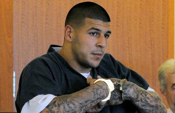 Aaron Hernandez has pleaded not guilty to murder.