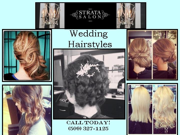Wedding Hairstyles From Strata Salon