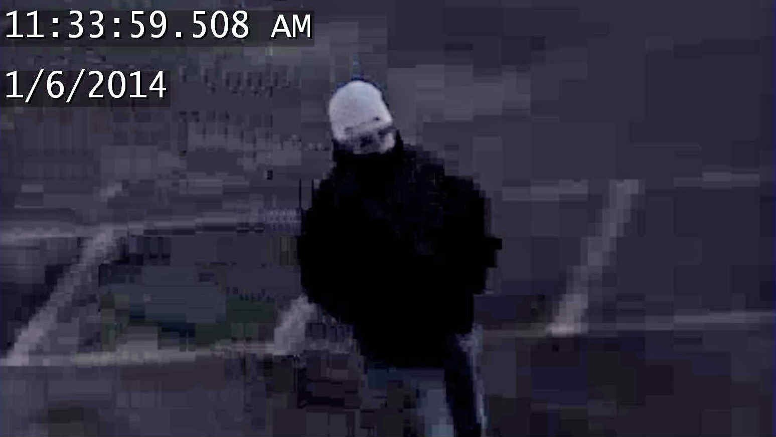 Spokane Police say this man robbed a pharmacy at 5th and Browne in downtown Spokane. Anyone with information please contact Crimestoppers at 1-800-222-TIPS