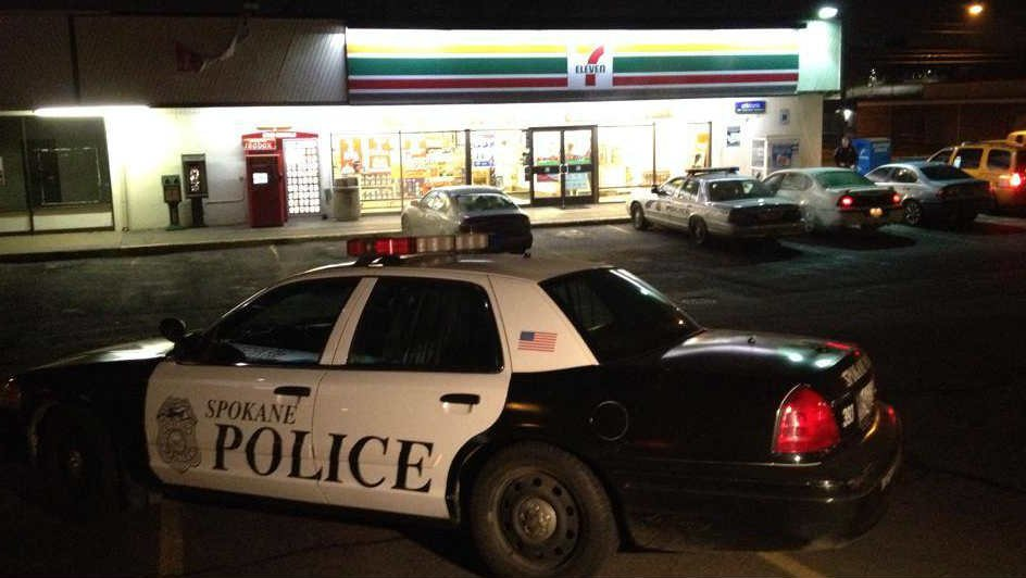 Spokane Police are investigating an armed robbery that happened at the 7-11 near Washington and Indiana Wednesday night.