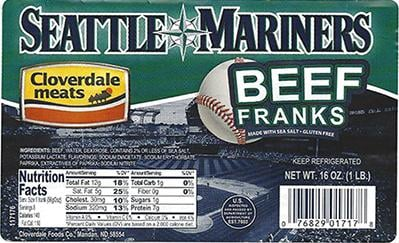 Seattle Mariners Beef Franks Recalled