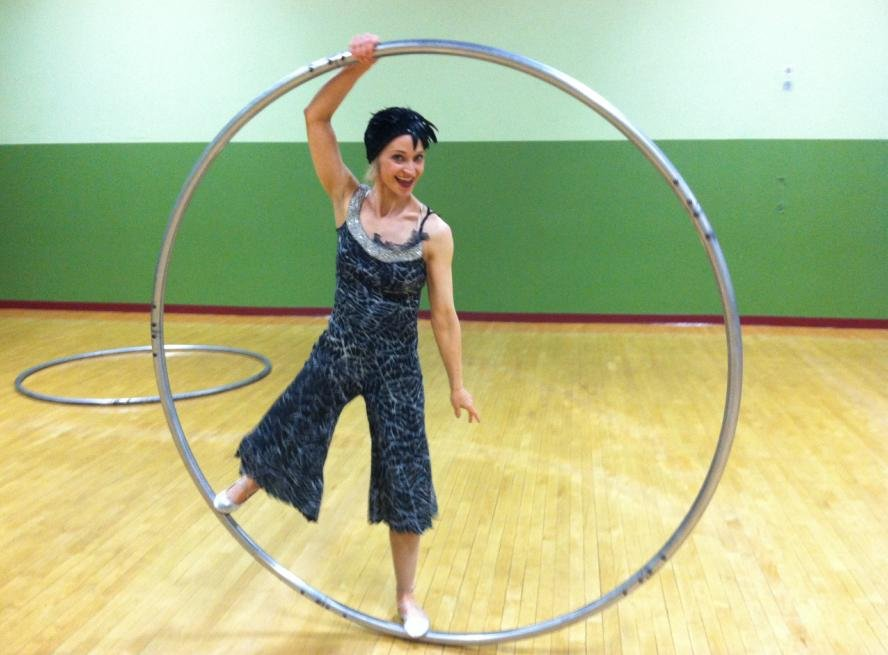 Circus Performer Krin Haglund