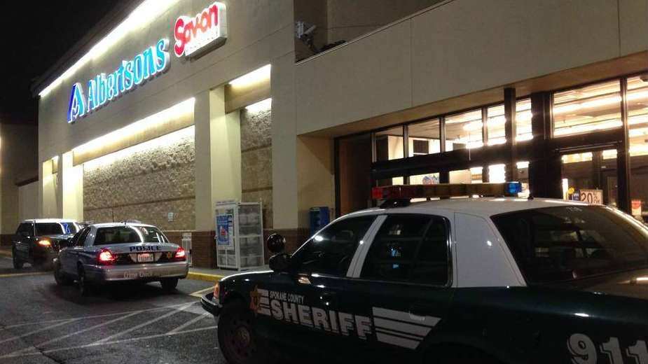 The Albertsons Pharmacy at Trent and Argonne was robbed Thursday night by two men.