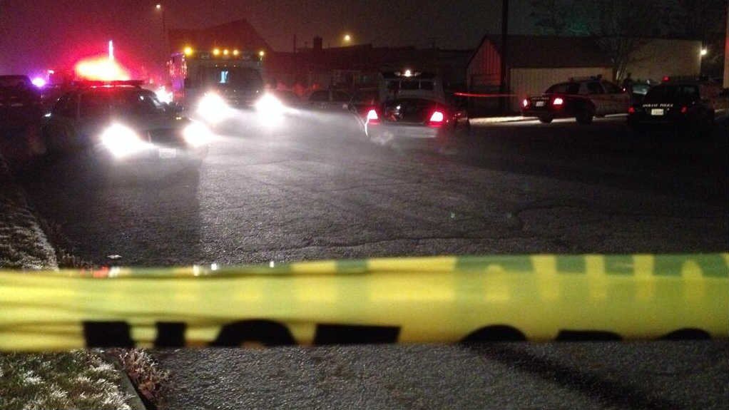 One person was taken to the hospital with multiple gunshot wounds following an officer involved shooting Thursday night