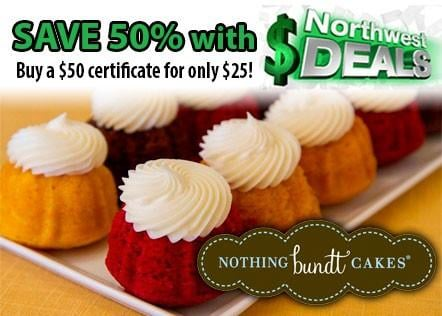 KHQ NW Deals: Half-off at Nothing Bundt Cakes - only $25!