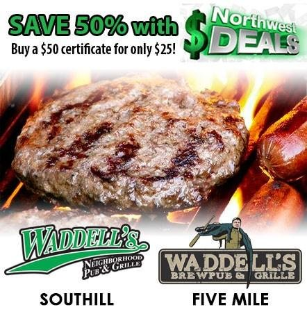KHQ NW Deals: Half-off at Waddell's Brewpub & Grille - only $25!