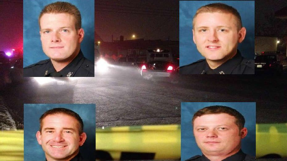 The Spokane Police Department has identified the four officers involved in the shooting that took place on January 17th near Truth Ministries in east Spokane.
