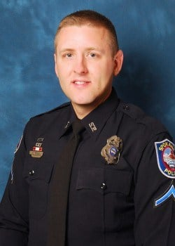 Ofc. Holton Widhalm: 6 year SPD veteran and Field Training Officer (FTO)