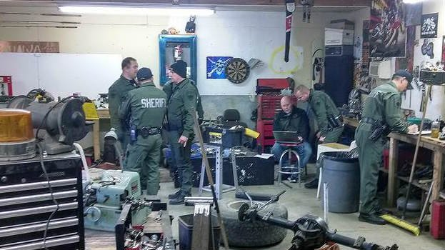 Deputies with Grant Co. raided a home in Moses Lake on Monday. PHOTO: Grant Co. Sheriff's Office