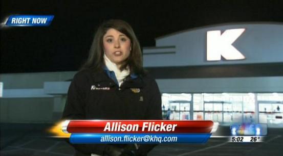 Burglary at Spokane Valley Kmart.