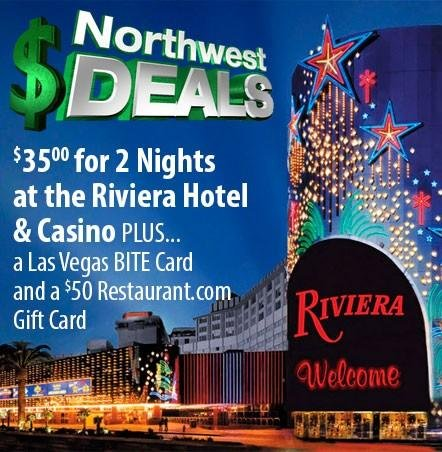 KHQ NW Deals: Riviera Hotel in Last Vegas - only $35 for 2 nights + more!