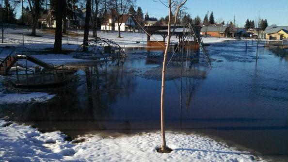 Flooding has hit many counties in eastern Washington and north Idaho