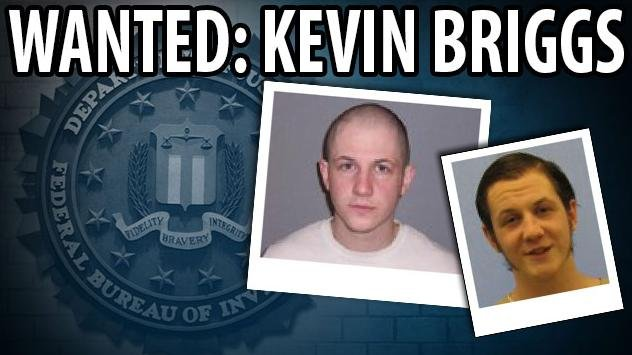 Fugitive Kevin Anthony Briggs known aliases include: Kevin Bacon, Kevin Briggs, Kevin A. Briggs, Aimee MacIntire, Timothy McCoy, James Meismer, James Zenon Meismer