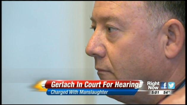 Gail Gerlach was in court on Friday for a pre-trial motion