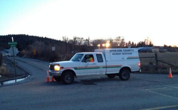 One woman was killed after her car rolled down an embankment near stateline on Thursday
