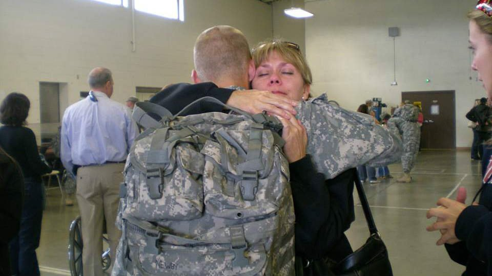 """On July 7th, 2011 20-year-old Army Private First Class Nicholas Newby died in Iraq from an improvised explosive device.  Newby's mother, Theresa Hart, through her devastation, created what she calls a """"Newby-ginning."""""""