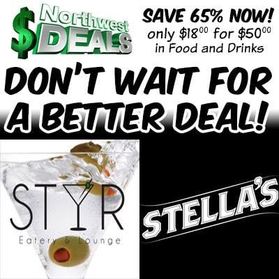 KHQ NW Deals: Save 65% at Stir or Stella's!