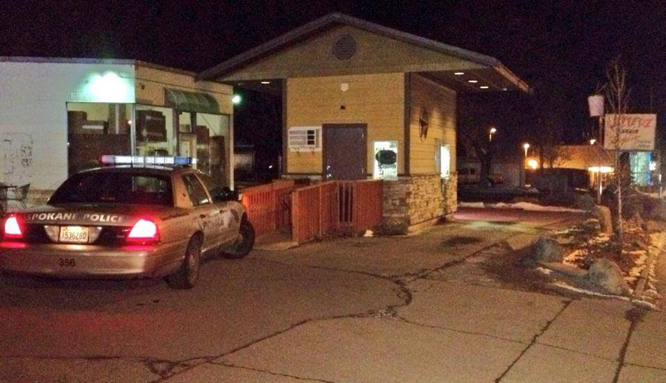 Jitterz Java was robbed for the second time in February on Friday night.