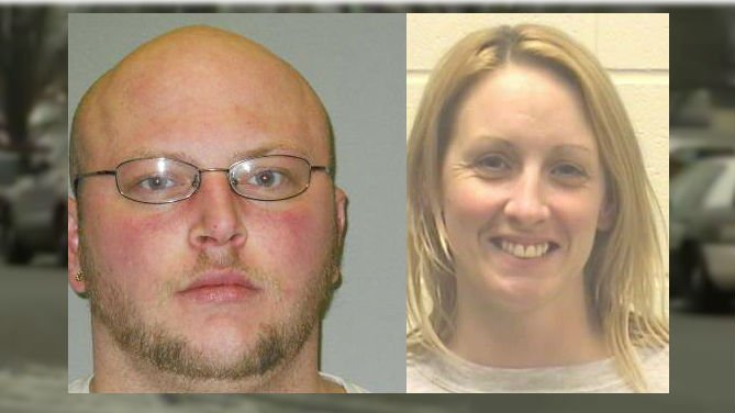 Police tell us Eric Heil, 32, and Bonnie Ulrick, 37, both had felony warrants out of Montana, were armed with a pistol and were driving a stolen car.
