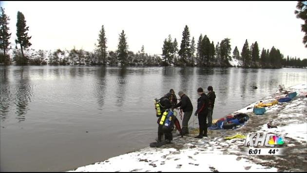 With the rivers and streams slowing filling up from rain and snow melt, Spokane County Sheriff's Office is reminding everyone to stay out of the water.