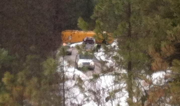 Bus crash in Stevens County
