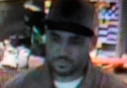 Photo of the robbery suspect
