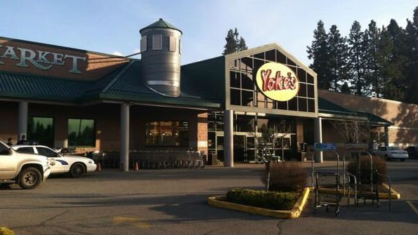 The Yoke's Fresh Market on Indian Trail Road was robbed on Tuesday evening
