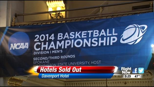 Round 2 March Madness games start on Thursday, which is expected to bring in more than two million dollars into the city of Spokane.