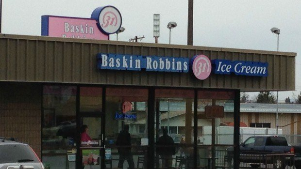 Baskin-Robbins on Cannon and Monroe was robbed on Tuesday afternoon