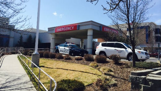 Spokane Police are looking into how a man with a gunshot wound ended up at a north Spokane hospital