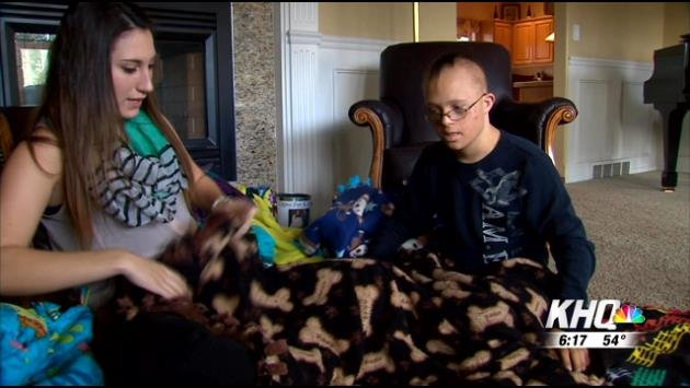 Lucas Morgan, 16, was born with Down syndrome and was diagnosed with leukemia at the age of 14.  He's been to the verge of death and back, and now his life has more meaning than ever.