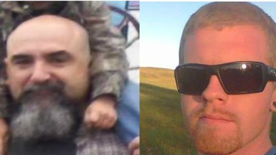 40-year-old Danny Cecil Jones (Left) and 22-year-old Justin Cairns (right) were shot and killed during officer involved shootings. Prosecutors have ruled the shootings justified.