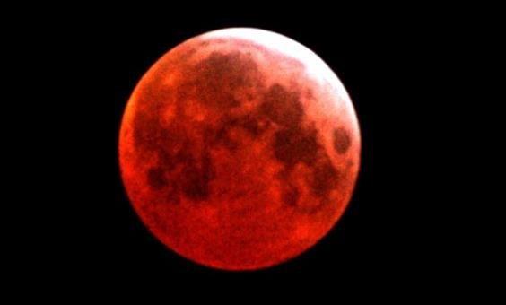 On Tuesday, April 15, there will be a total lunar eclipse that will turn the moon a coppery red, NASA says. It's called a blood moon, and it's one of four total eclipses that will take place in North America within the next year and a half.