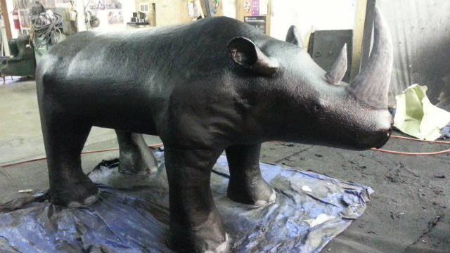 This rhino was stolen from Rhino Linings of Spokane this week