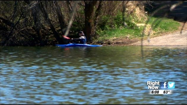 As the weather gets warmer, people head out to the water to fish, kayak, canoe, and do other activities