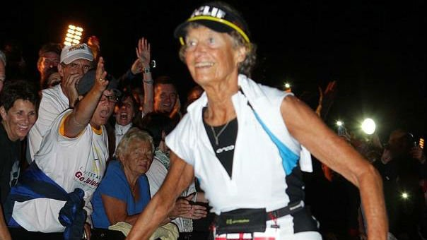 Sister Madonna Buder will be inducted into the USA Triathlon Hall Of Fame this year
