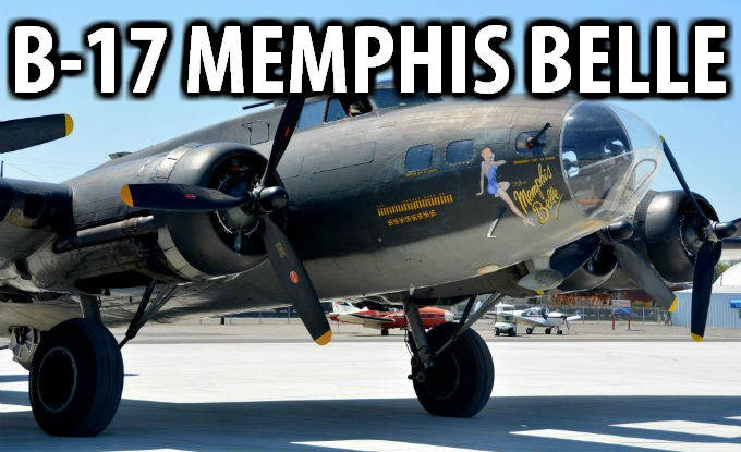 "The LIberty Foundation's B-17 Flying Fortress ""Memphis Belle"" is in Spokane until May 18th at Felts Field"