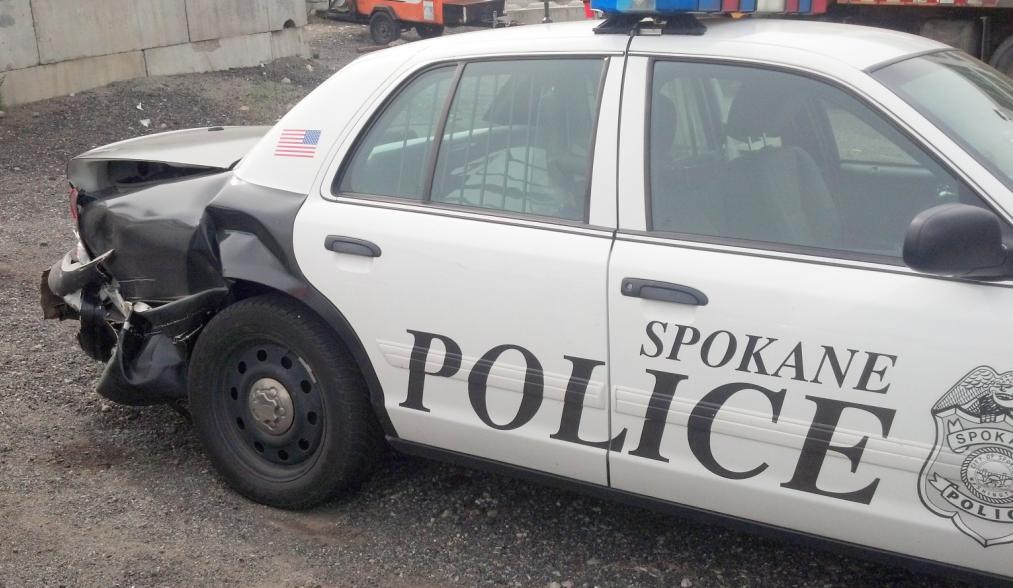 Dui suspect hits spokane police car and citizen vehicle spokane