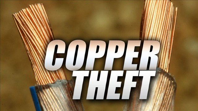Copper theft is again on the increase in Kootenai County.